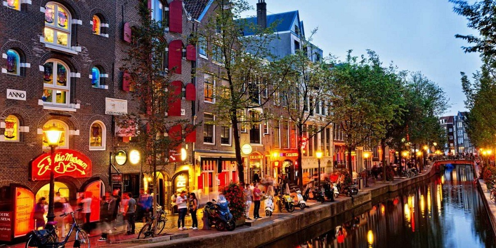 Amsterdammost famous destinations