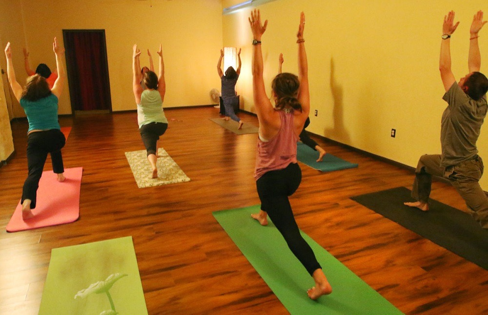 Yoga helps mind