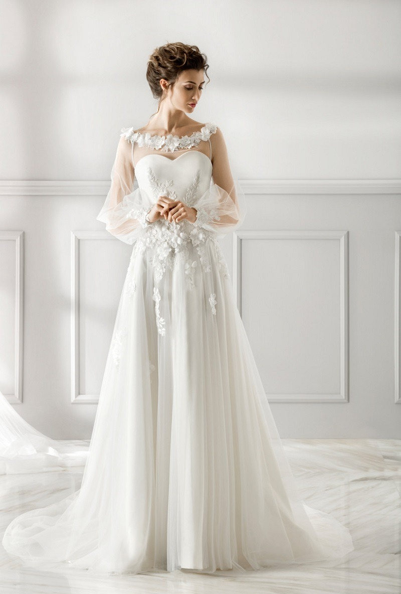 All kinds of wedding dress sleeves