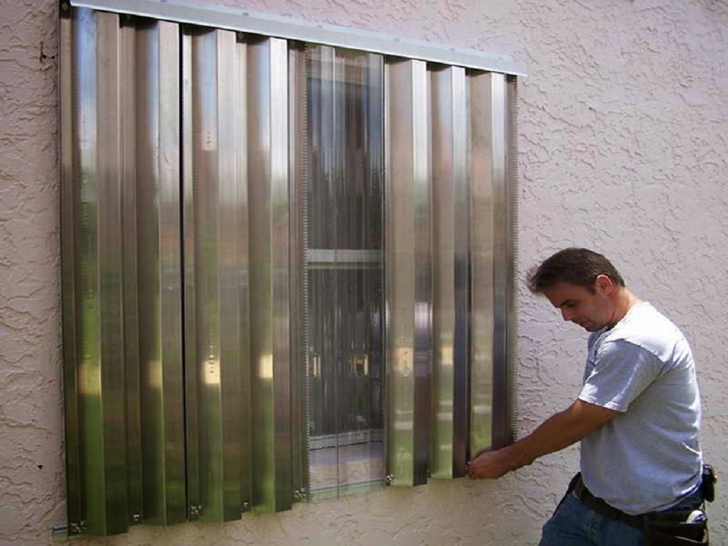 Hurricane Window Protection