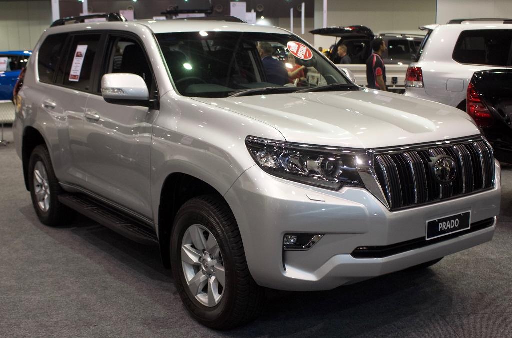 Shiny Look on 2018 Toyota Prado